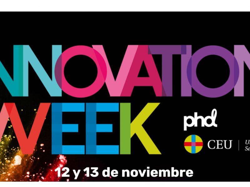 innovation week, phd, ceu, universidad san pablo, población, programapublicidad