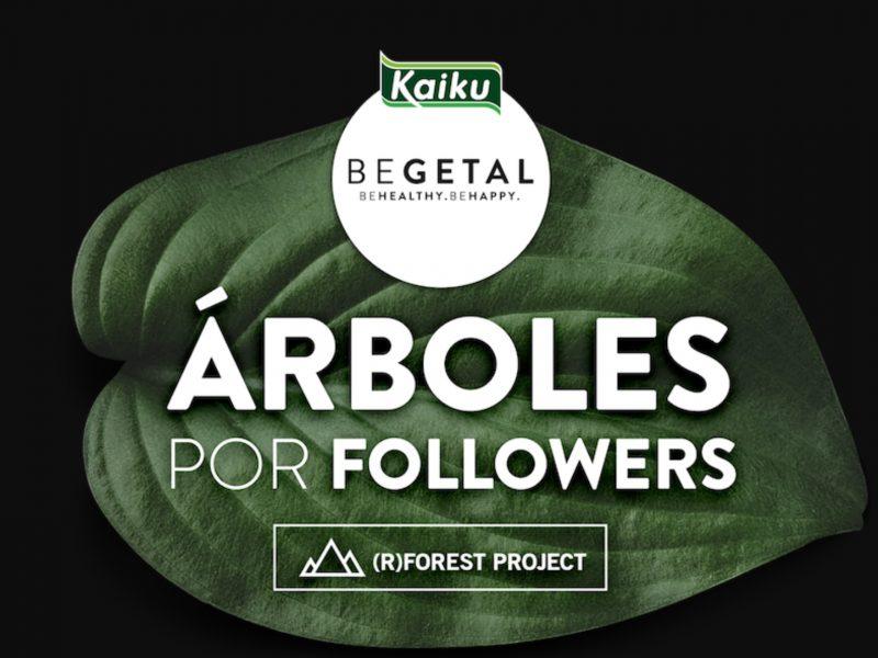 De esta forma, prevé reforestar10.000 m2 de bosque gracias a sus seguidores en redes sociales.