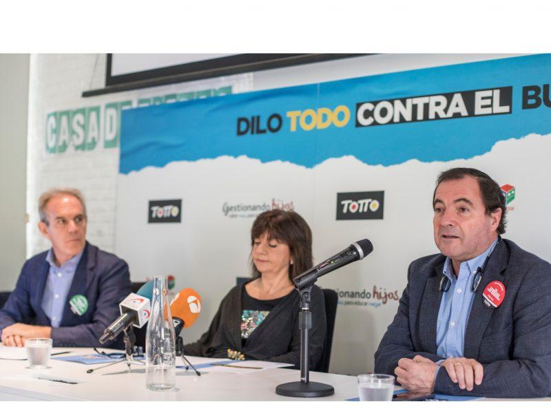 leo farache, PRESENTACIÓN, ESTUDIO ,DILO ,TODO ,CONTRA EL BULLYING, programapublicidad