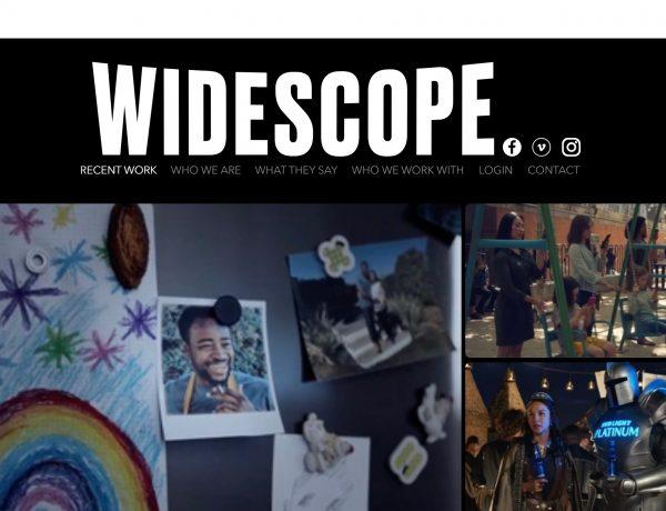 widescope, productions, web, programapublicidad