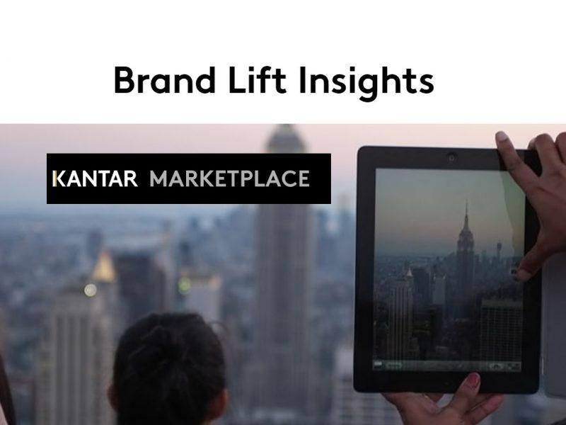 Brand Lift ,Insights , Kantar, programapublicidad