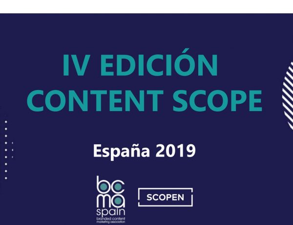 CONTENT SCOPE, 2019, programapublicidad
