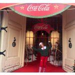 Coca-Cola organiza La Casa de la Navidad en Madrid.