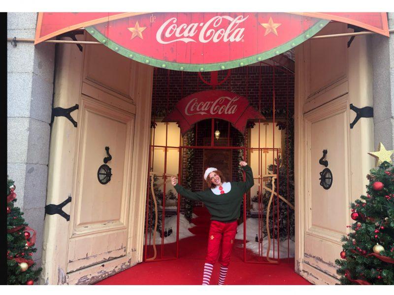Coca-Cola , organiza , La Casa , Navidad , Madrid, casino, programapublicidad