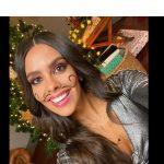 Cristina Pedroche pone en valor los bigotes de los Rodolfos con PopCont.tv.