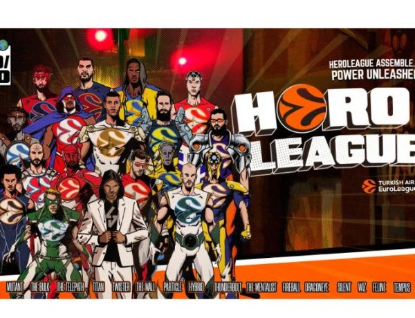 Euroleague, Heroleague, Illustration, Poster, turkish, programapublicidad