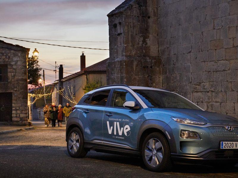 Hyundai, acerca ,Navidad , Campisábalos, pueblo , aire más limpio , España, programapublicidad