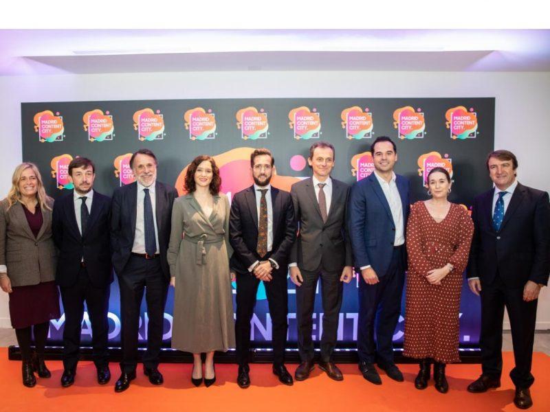 MADRID CONTENT CITY, atresmedia, secuoya, Rocío Albert, Pablo Jimeno, José Creuheras, Isabel Díaz Ayuso, Raúl, programapublicidad