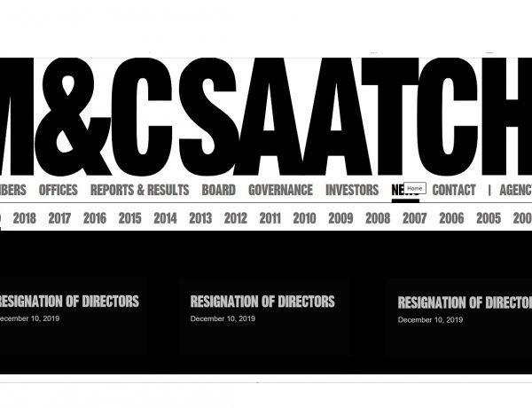 M&C Saatchi, resignation of directors, programapublicidad