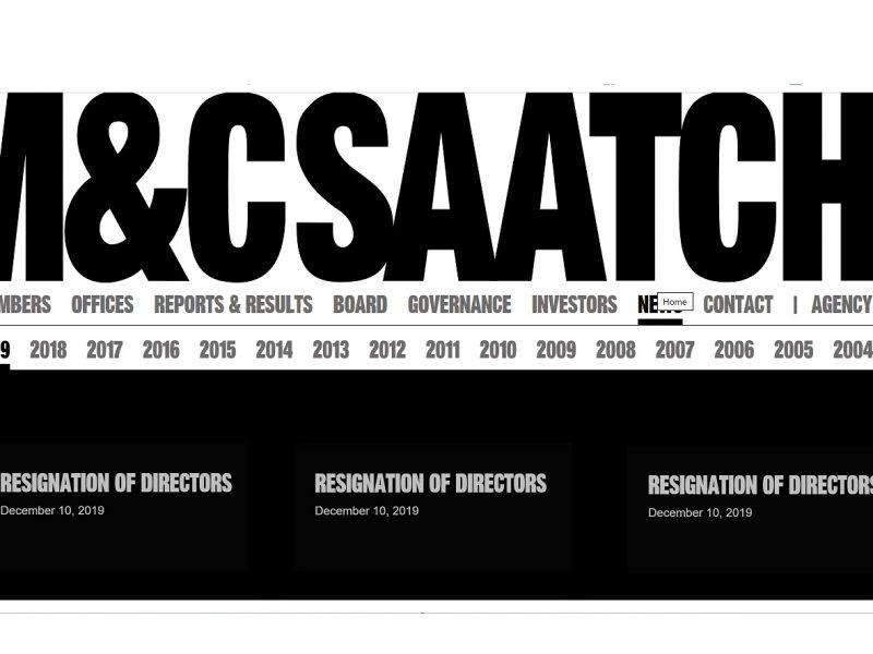 M&C Saatchi, resignation of directors, programapublicidad