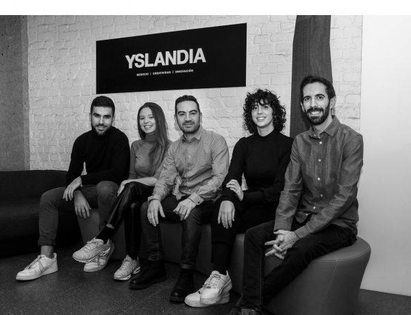 Marc Morales, Galla Basora, Jaume Rufach, Miriam Alonso ,Álvaro Martínez-Berganz, yslandia, programapublicidad