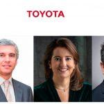 Toyota España anuncia cambios en su directiva y en su área de Comunicación.