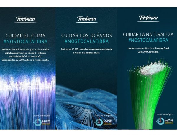 Publicis , desarrolla , campaña , Telefónica , COP25, programapublicidad