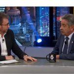 El Hormiguero: Miguel Angel Revilla, A3, lideró con 2,7 millones de espectadores y 15,8%