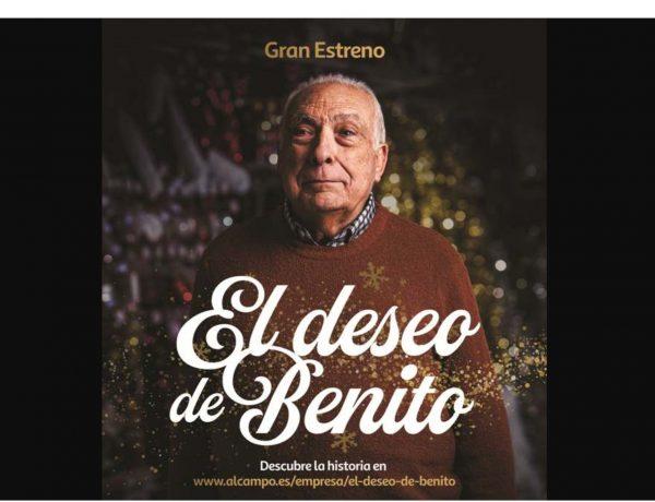 Serviceplan España , lanza ,campaña ,Navidad , Alcampo, deseo de Benito, programapublicidad