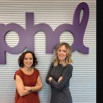 Tania Pérez y Simona Mauro, Digital Business Director y , Head of Paid Search, en PHD