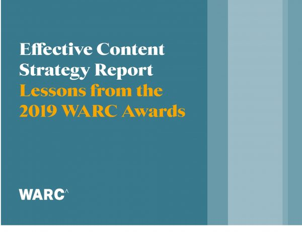 WARC Adwards, Effective , Social Strategy , Report, programapublicidad