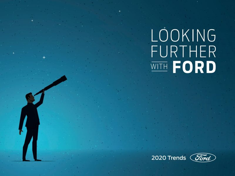 informe, looking further, with Ford, 2020, trends, programapublicidad