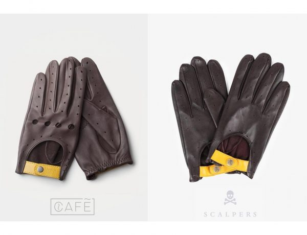 plagio, guantes, cafe, leather, supply, scalpers, programapublicidad