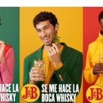 Con J&B se te hará la boca…¡whisky! Campaña de El Ruso de Rocky.