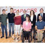 Calidad Pascual presenta su proyecto cinematográfico: 'Capaces'.