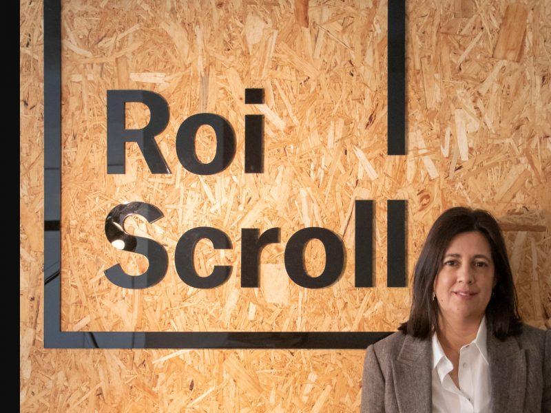 Estela Carrera, Marketing Offline Director, agencia gallega , Roi Scroll, programapublicidad