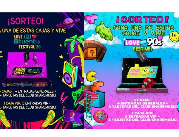 Love the 90s , Festival, corte ingles, programapublicidad