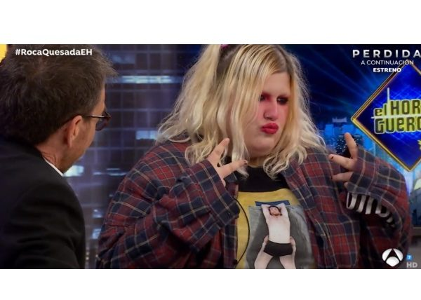 NURIA ROCA, ESTY QUESADA , EL HORMIGUERO , Antena3 , programapublicidad
