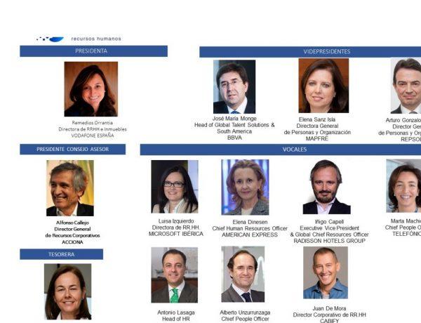 Nueva ,Junta Directiva ,Asociación Española ,Directores , Recursos Humanos, programapublicidad