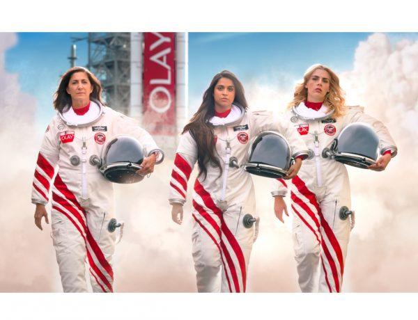 Olay , tripulación mujeres , espacio , Super Bowl, programapublicidad