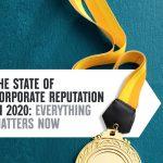 La reputación constituye el 63% del valor de mercado de una empresa .