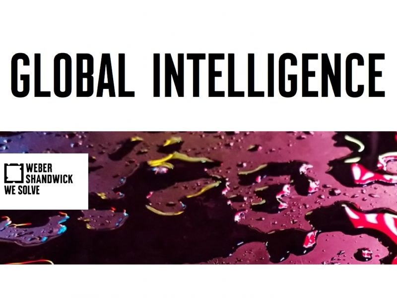 Weber Shandwick, Global Intelligence, programapublicidad