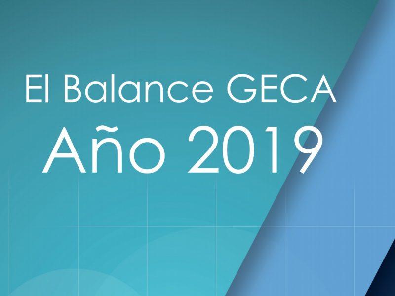balance , 2019, geca, programapublicidad