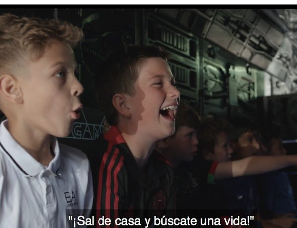 gamers, niños, NOT A GAME, movistar, fcb&Fore, programapublicidad
