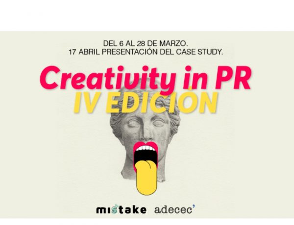 ADECEC , Misstake Creativity ,School , lanzaron , Creativity in PR, programapublicidad