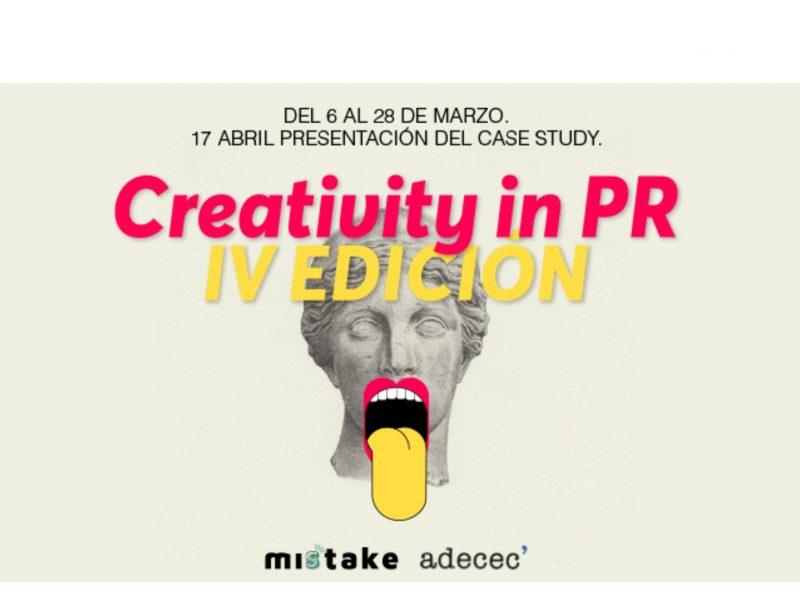 ADECEC , Misstake Creativity ,School , lanzaron , Creativity in PR, programapublicidad