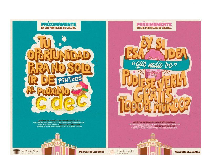 Callao City Lights , convoca , concurso , creatividad , pantallas, programapublicidad