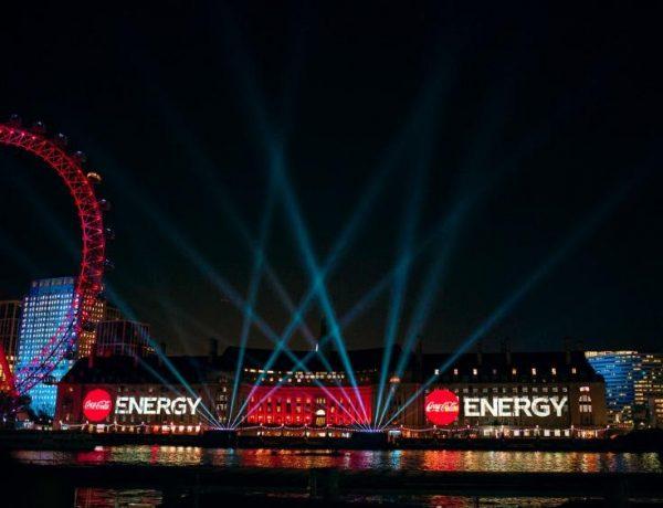 Coca-Cola , Energy , Londres, mktg, programapublicidad