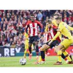 La Copa del Rey, At. Bilbao y Barcelona, lideró el jueves en Cuatro con 4,1 millones y 23,9%.