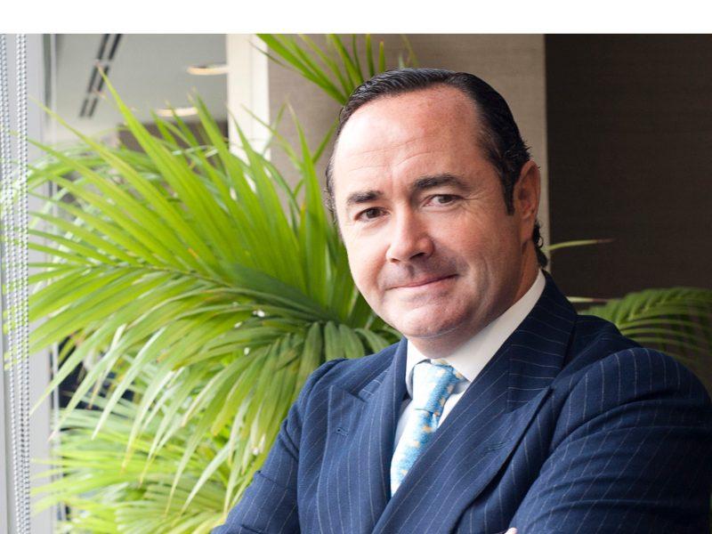 Cristóbal Paredes, director general , banca corporativa , inversión , ING , España & Portugal programapublicidad