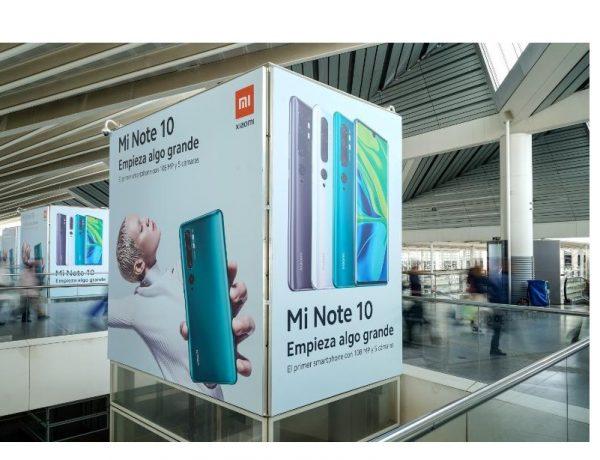 Exterior Plus , campaña , Xiaomi , ascensores , estación , Atocha , programapublicidad