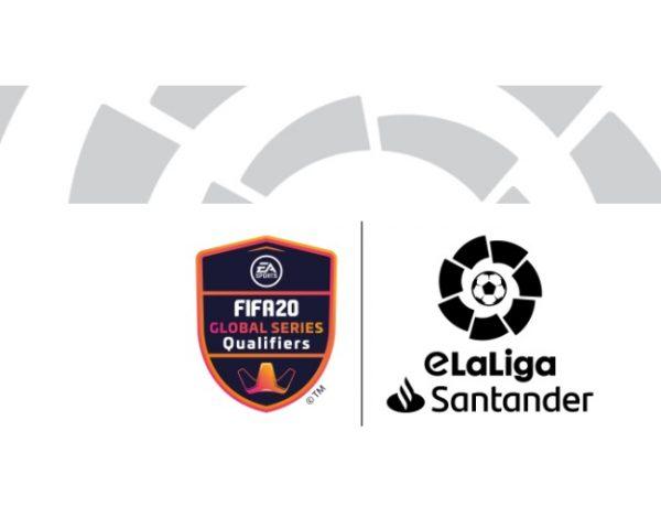 LALIGA, e EA SPORTS TM FIFA 20 Global Series, programapublicidad