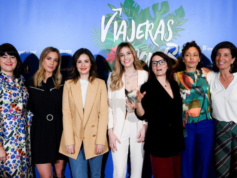 María Pombo, Ana Milán, Silvia Abril, Amaya Valdemoro, Marta Torné , Patricia Pérez , viajeras con B, Secuoya, programapublicidad