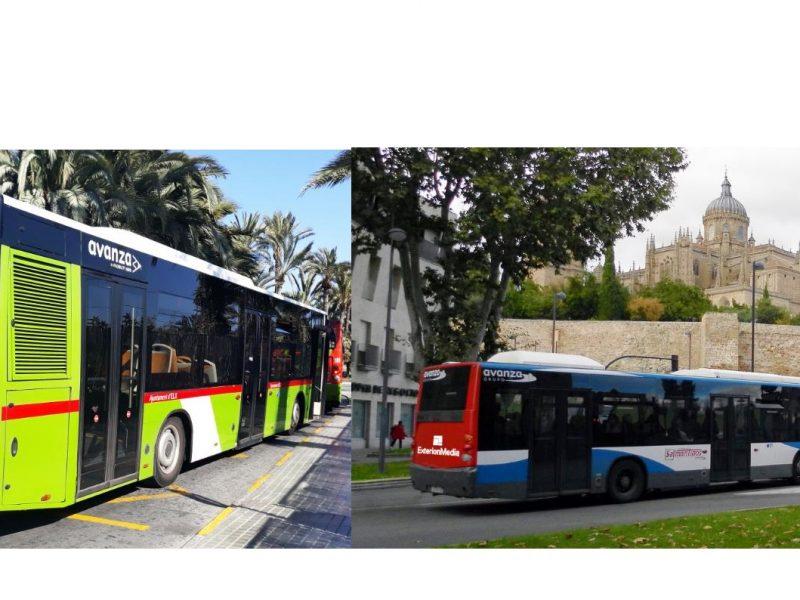 Publicidad Exterior , autobuses , Elche, Salamanca_Exterion Media, programapublicidad