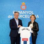 El RCD Espanyol renueva dos años su contrato con Coca-Cola.
