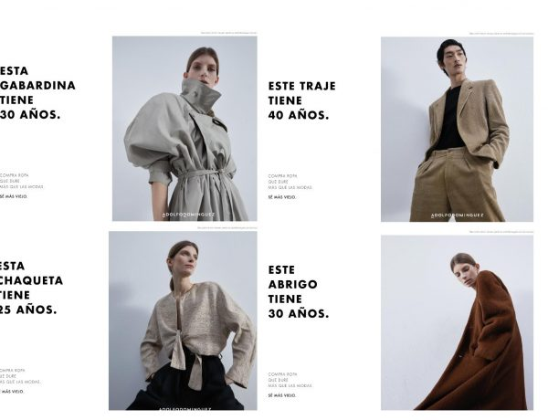 Ropa Vieja, creada , CHINA, campaña , Adolfo Domínguez , programapublicidad