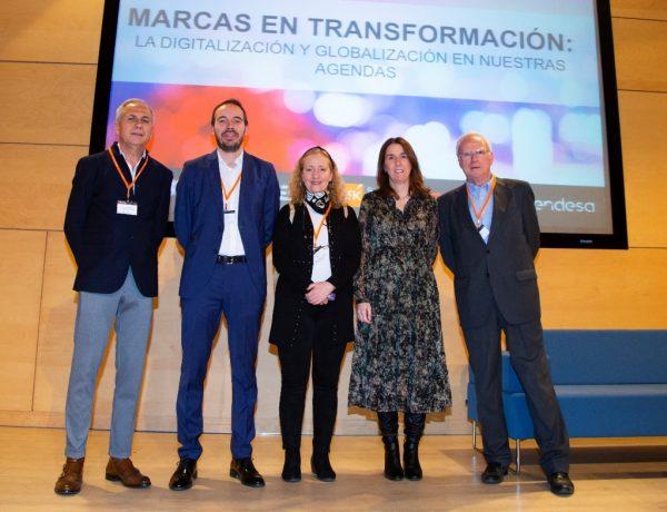 Víctor Mirabet, Summa Branding; Pablo López, Foro de Marcas Renombradas , Antonieta Martín, GfK, María Lacasa, OB2020, programapublicidad