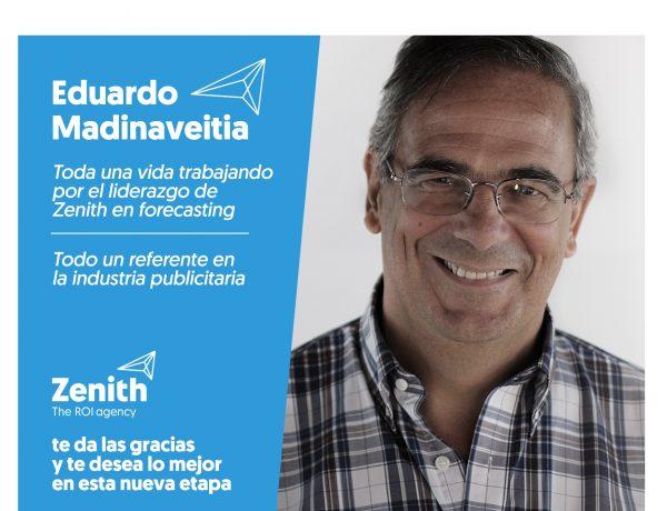 Zenith , anuncia , jubilación , Eduardo Madinaveitia , programapublicidad