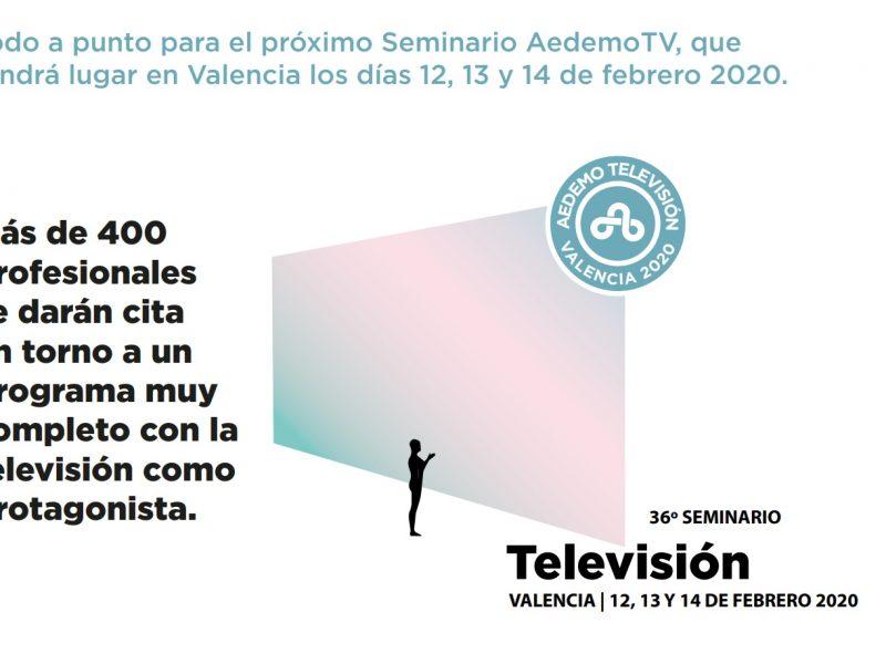 cartel, aedemoTV, 2020, programapublicidad