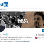 Pau Gasol y Dimas Gimeno influencers de LinkedIn en España.